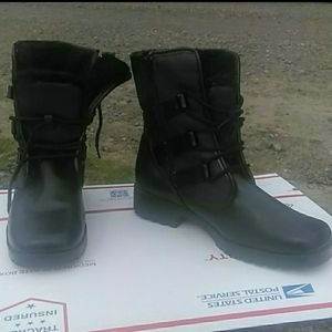 Thinsulate™ Combat Boot Fur Lined Black 10